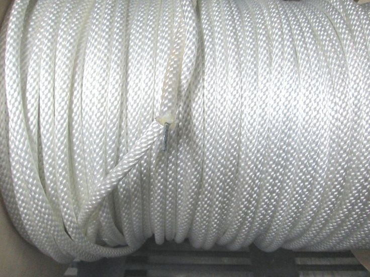 Flag Poles and Parts 43536: 5 16 Braided Polyester Wire Core Flagpole Rope 2400 Lb Tinsel Made In Usa -> BUY IT NOW ONLY: $41.95 on eBay!