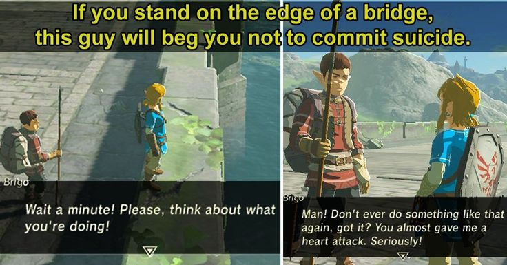 10 Fantastic Details Hidden in Zelda: Breath of the Wild. I already love this guy.