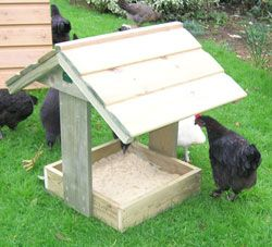 Wonder if we could make one of these to stop the chooks digging up the flower beds