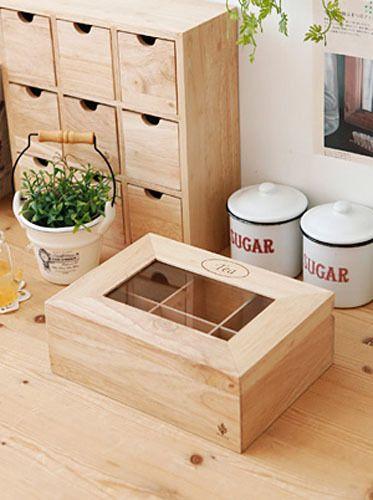 wood drawer organizer boxes 2