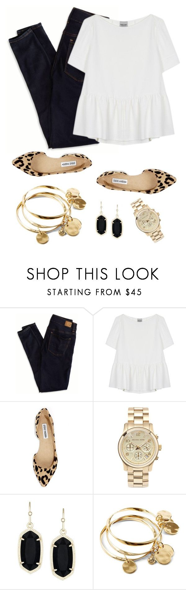 """Untitled #195"" by hkmmcds ❤ liked on Polyvore featuring American Eagle Outfitters, Rachel Comey, Steve Madden, Michael Kors, Kendra Scott and Vera Bradley"