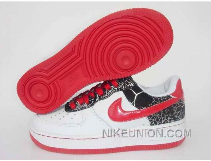 http://www.nikeunion.com/nike-air-force-1-low-white-black-silver-red-discount.html NIKE AIR FORCE 1 LOW WHITE BLACK SILVER RED DISCOUNT Only $58.99 , Free Shipping!