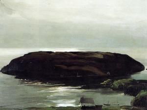 An Island In The Sea  George Wesley Bellows