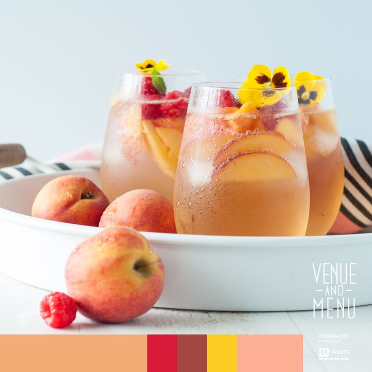 Peachy Champagne Spritzer