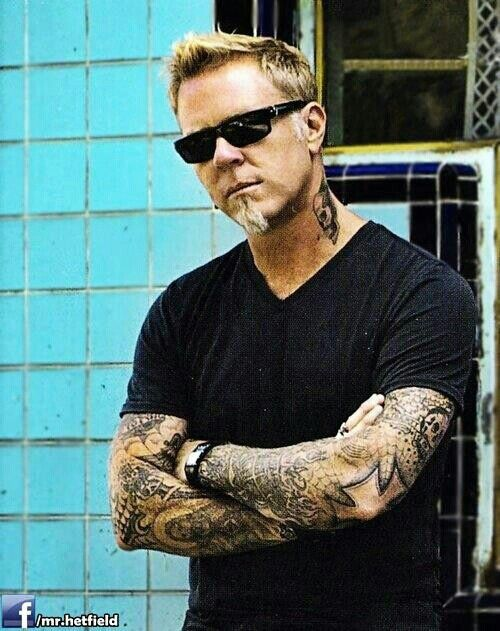 james hetfield gets more gorgeous every day!