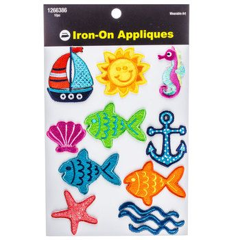 Tropical Iron-On Assortment Pack