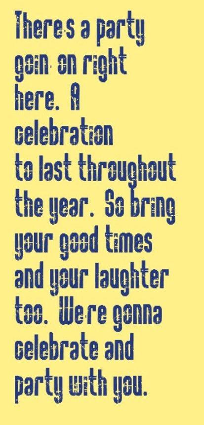 Kool & The Gang - Celebration - song lyrics, song quotes, songs, music lyrics,music quotes
