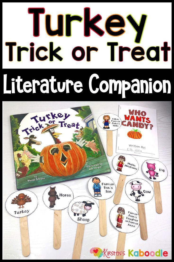 Turkey Trick Or Treat Activities With Digital Distance Learning Option Halloween Kindergarten Halloween Picture Books Fun Language Arts