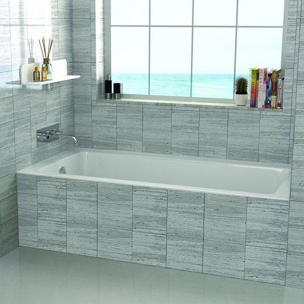 48 Quot X 32 Quot Drop In Soaking Bathtub Upstairs Bath In 2019