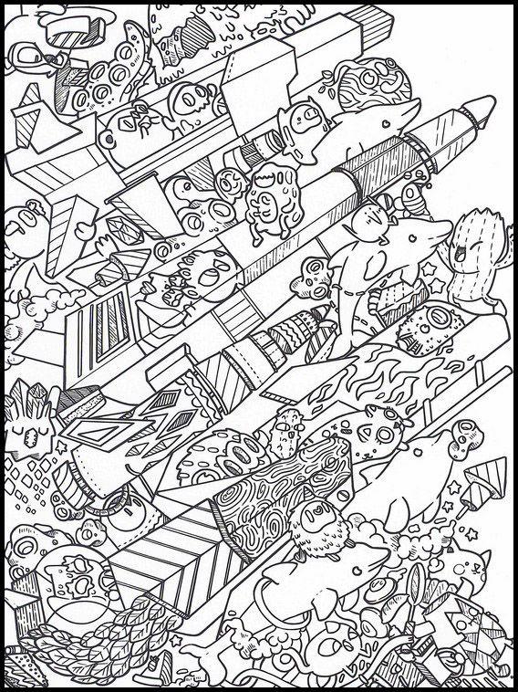 Doodles Im Weltraum 17 Ausmalbilder Fur Kinder Malvorlagen Zum Ausdrucken Und Ausmalen Ausmalbilder Zum Ausdrucken Ausmalbilder Wenn Du Mal Buch