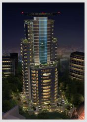 """Pallazio Azure translated as """"Palace in the Blue Sky"""". Situated at Eranhipalam Jn. Calicut ensures proximity to all major areas in Calicut.  Read More: http://www.galaxy-builders.com/pallazio-azure.html"""