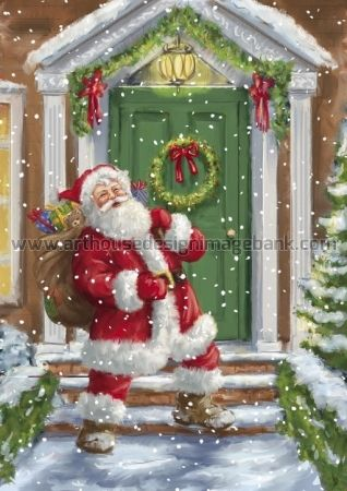 Santa Claus images for licensing