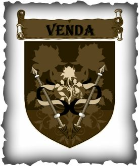 Coat of arms for the kingdom of Venda from the REMNANT CHRONICLES by Mary E. Pearson