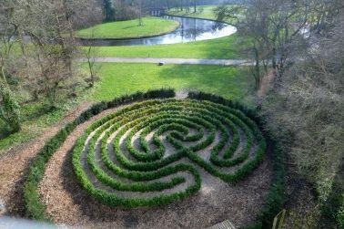 Labyrinth park Toorenvliedt, Middelburg, Netherlands