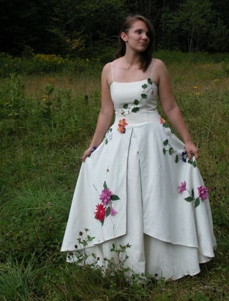 Cotton Wedding Dresses Made In Vermont By Tara Lynn
