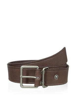 58% OFF Calvin Klein Jeans Men's Heat Creased Belt (Brown)