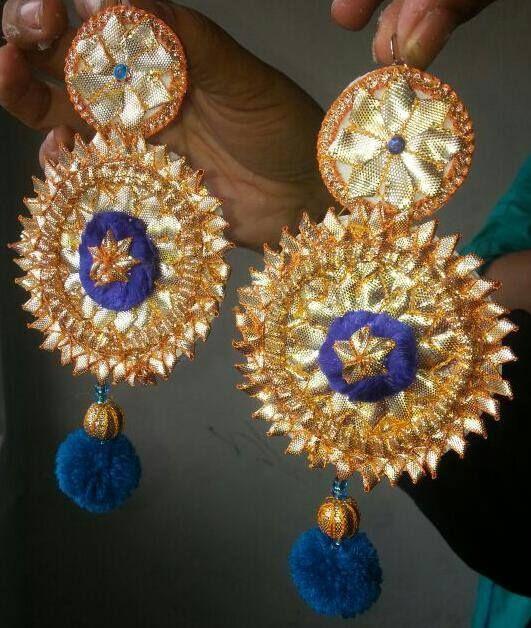 Hand made gota jewellery