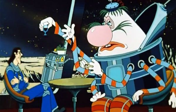 The Mystery of the third planet. Classic Russian animation from the 80s.