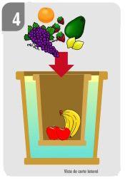 Este es un modo práctico para mantener refrigeradas nuestras frutas y verduras sin tener que utilizar electricidad. Es claro que no enfría como una heladera eléctrica, pero si es una manera...