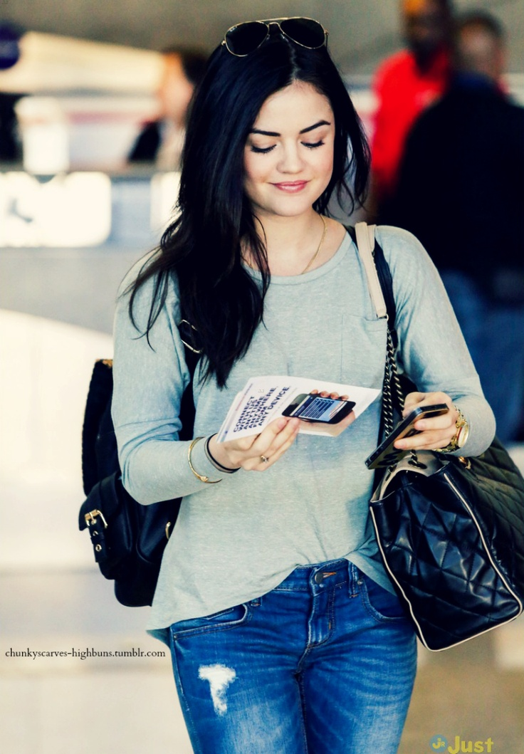 lucy hale, love her hair n style!
