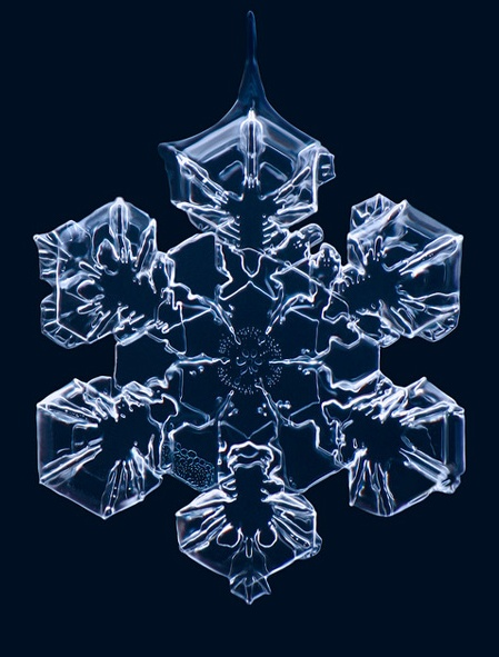 Beautiful snowflake, one of the fragrance inspirations to Balsam Snow