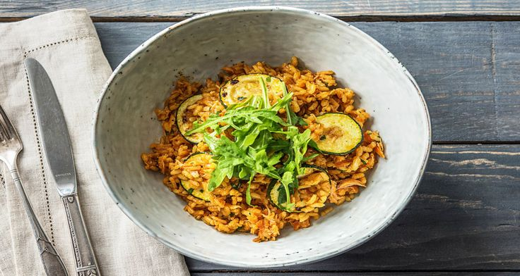 Hot Smoked Salmon Risotto Recipe | HelloFresh