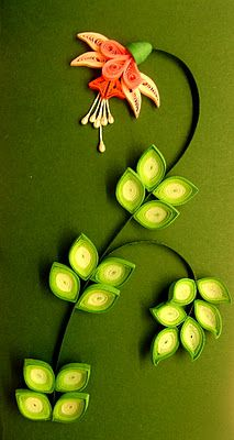 Quilling Me Softly