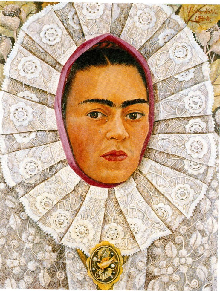 https://flic.kr/p/RniiVa | Postcrossing US-4529019 | Postcard with a self portrait that Mexican artist Frida Kahlo painted in 1948. Sent to a Postcrosser in the Netherlands.