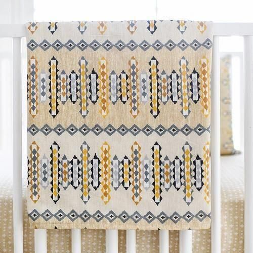 Blanket | Aztec Navajo in Gold