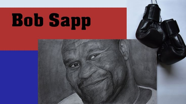 "Bob Sapp Features  - Graphite pencils on paper 180g / 0.40lbs - Signed by the artist Measurements  - 61 x 34 cm / 24"" W x 13"" H Inch"