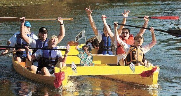 20 best cardboard boat regatta ideas images on pinterest for Fun motors longview tx