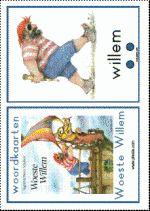 Woordkaarten Woeste Willem - GROOT