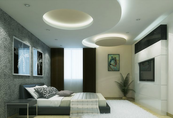 The living room is a reflection of your personality the for Bedroom gypsum ceiling designs photos