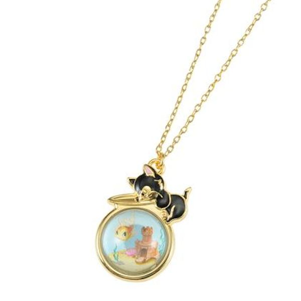 Cleo & Figaro necklace! - All The Things We Want from Disney Store Japan