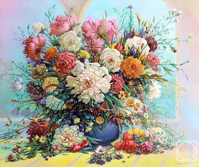 Panin Sergey. Floral romance