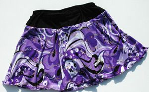 The best running skirts ever!!! They have pockets and the compression shorts do not ride up!