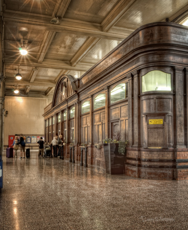 The old Ticket hall at Manchester Victoria Station.