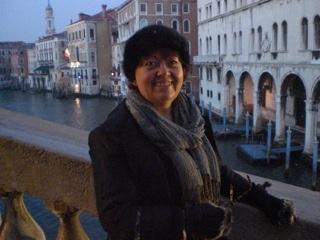 #romantic #Venice break, on one of the bridges. Entry from Cherry.