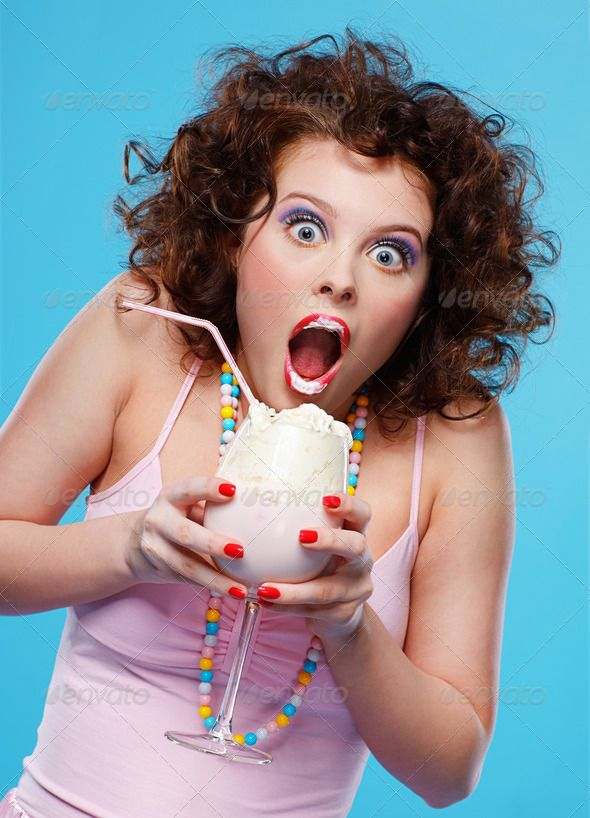 girl with milk shake (beautiful, beauty, blue, blue-eyed, brunette, caucasian, cocktail, curly, cyan, delicious, delight, dessert, diet, dress, drink, ecstasy, emotion, expression, face, fashion, female, finger-nails, girl, hand, lifestyle, make-up, manicure, milk shake, model, nails, pink, playful, portrait, red, shake, studio, style, surprise, sweet, tasty, tube, white, woman, wonder, young)