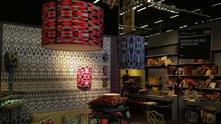 Geometric colourful light - Mariska Meijers Amsterdam [#maisonobjet September 2013]