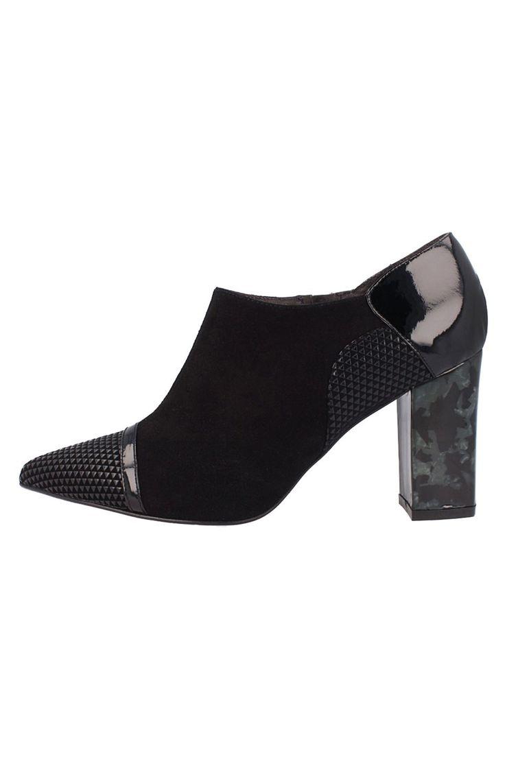 El Dantes - Avery Shoes in Black