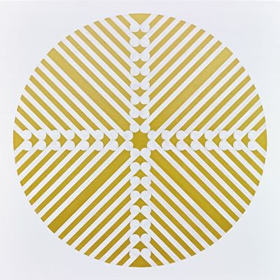 Contemporary Art New Zealand - Gold foil art prints