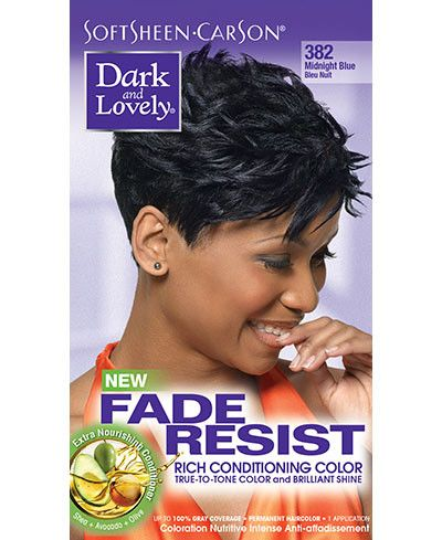 Dark and Lovely Fade Resistant Permanent Hair Color