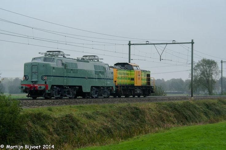 Eempolder, E-loc 1201  Baldwin/Werkspoor travling to Amersfoort