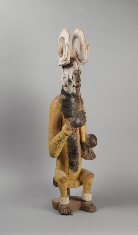 Ikenga altar figure (2009-156) | Princeton University Art Museum