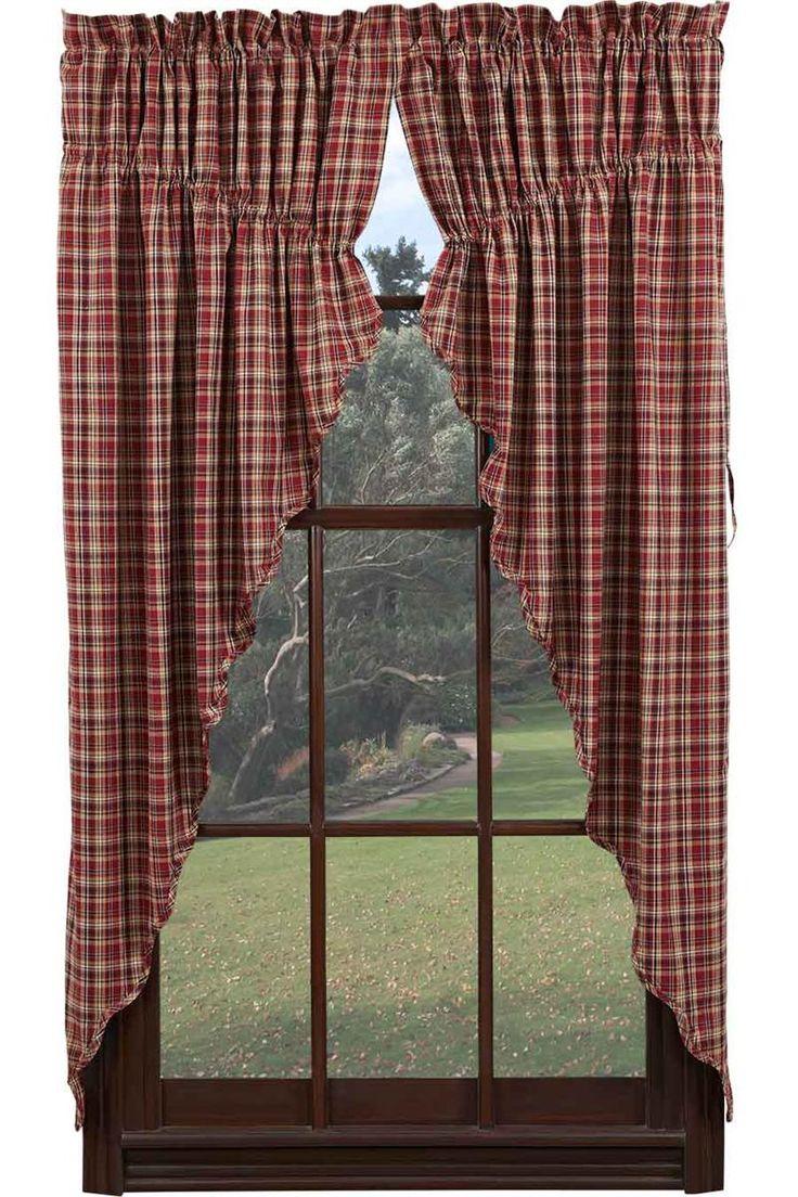 Primitive Curtains For Kitchen 1000 Images About Kitchen Curtains On Pinterest Valance