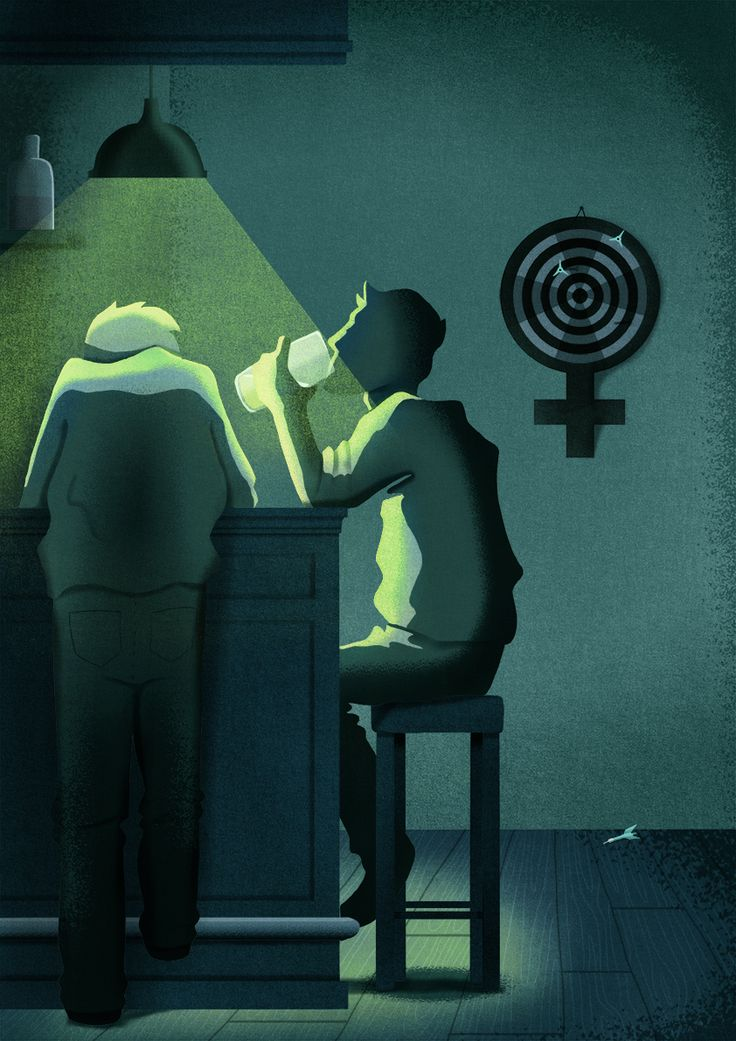 © Sara Gironi Carnevale - Not a guy stuff, illustration series about respect for women's rights.