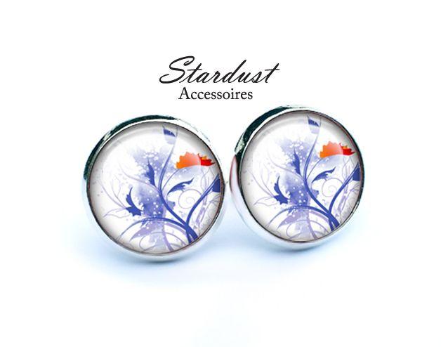 Ohrstecker silber ♥ Winterzauber ♥ von Stardust Accessoires auf DaWanda.com