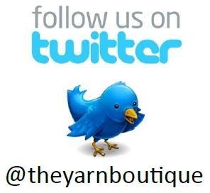 Follow us on Twitter! @theyarnboutique