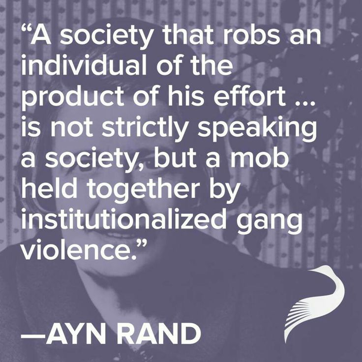 #AynRandForBeginners #AynRand #Quote #society